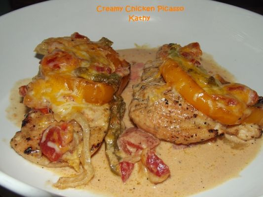 Creamy Chicken Picasso