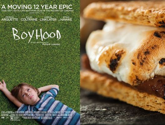 "Coming-of-Age S'mores (""Boyhood"")"