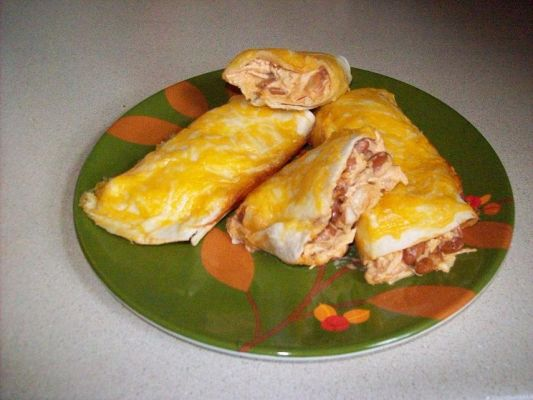 Creamy Chicken Burritos