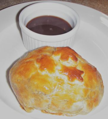 Beef Wellington with Madria Sauce