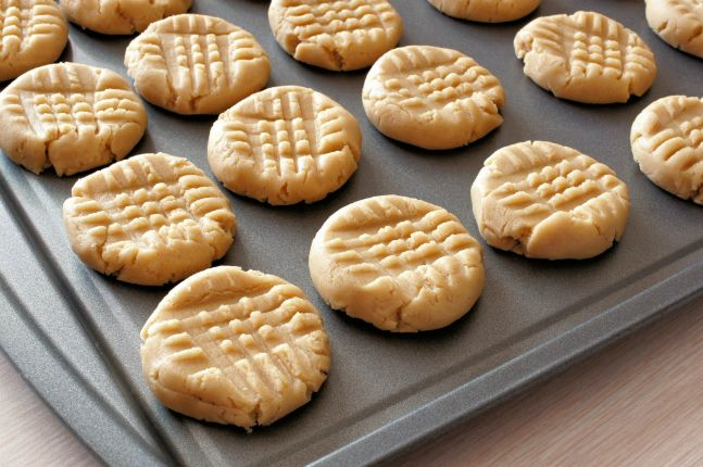 Coconut Oil Peanut Butter Cookies