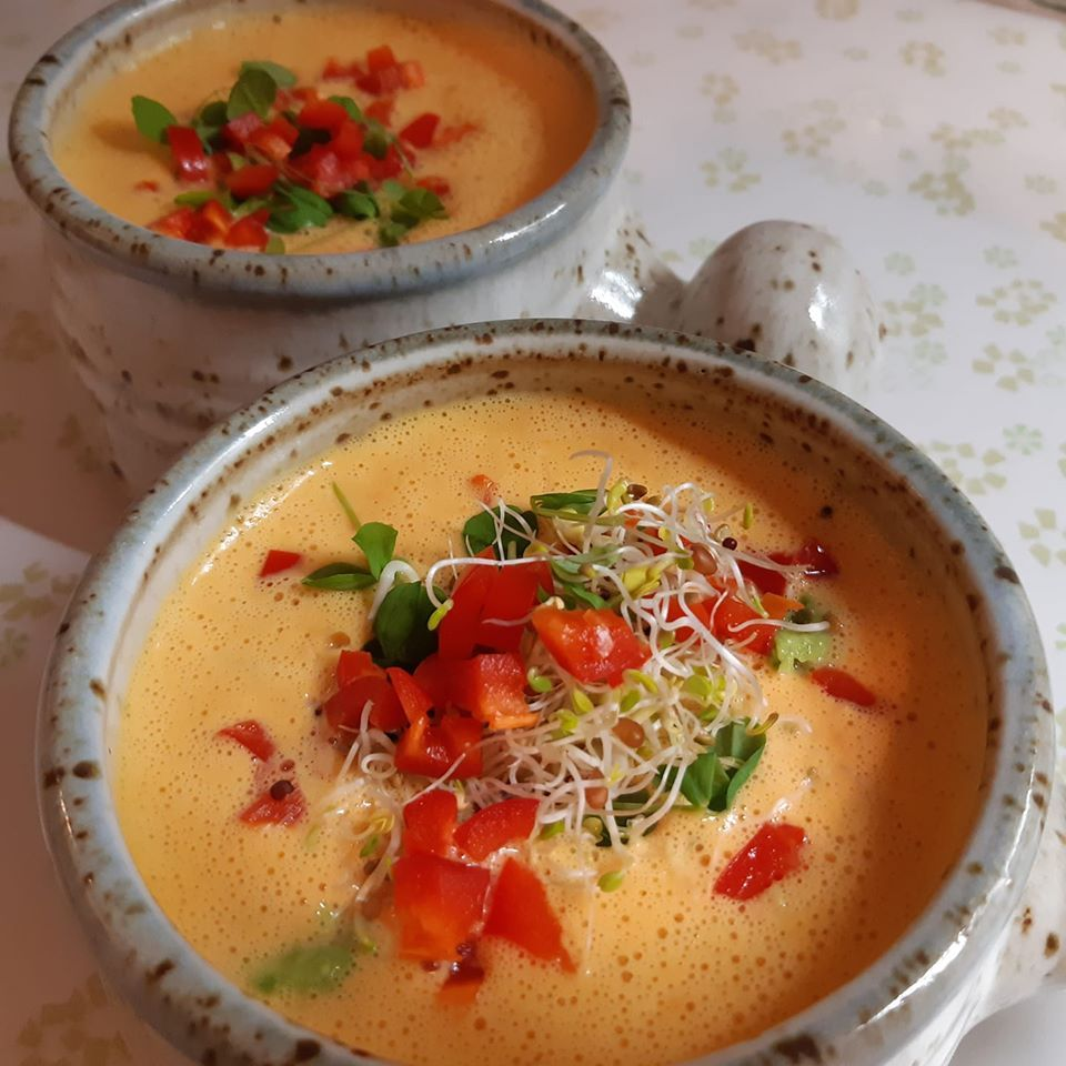 Instant Soups the Raw Vegan Way