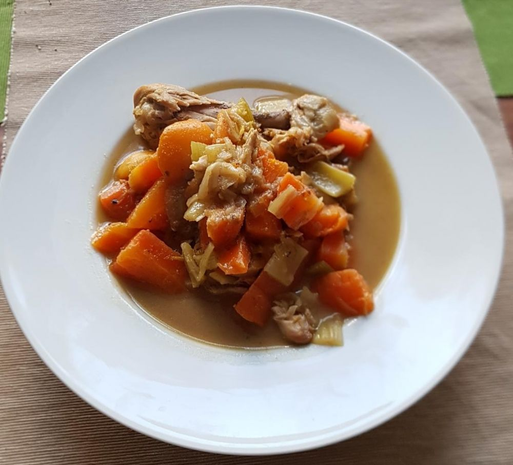 Gluten Free Chicken with Apricots and Cumin