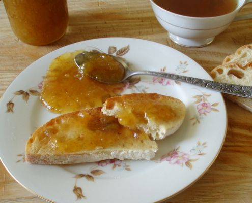 Vanilla Fig and Pear Freezer Jam