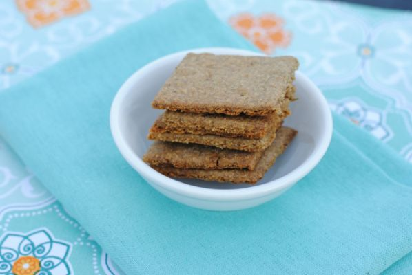 Maggie Savage's Gluten Free, Nut Free, Soy Free Vegan Savoury Rosemary Crackers