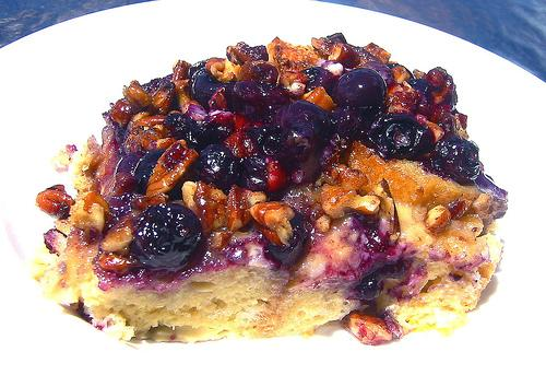Blueberry Pecan French Toast