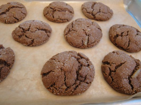 Carol Fenster's Gluten Free Vegan Ginger Molasses Cookies
