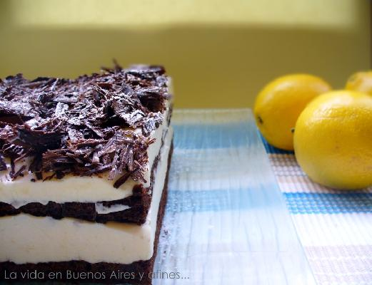 Lemon chocolate Dessert