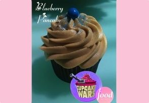 Cupcake Wars Winning Blueberry Pancake Cupcake Recipe