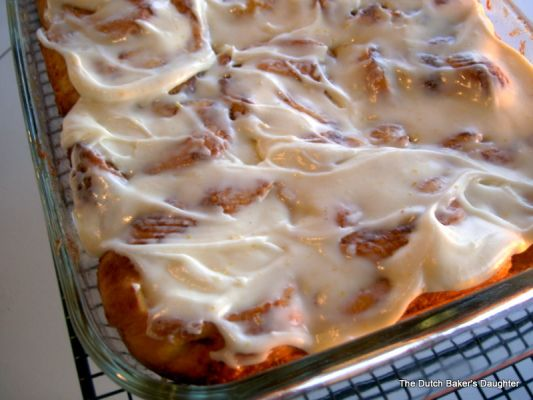 Sweet Potato Cinnamon Rolls