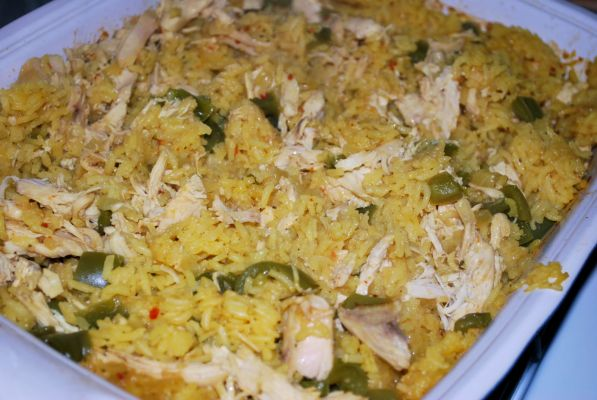 Baked Chicken and Rice – Great, Great Grandma Hannon