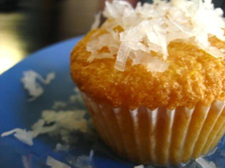 Revani Cupcakes (Semolina Sponge Cupcakes with Citrus Syrup and Coconut)