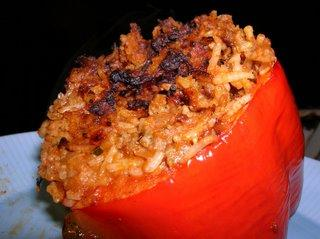 Stuffed Pepper for One