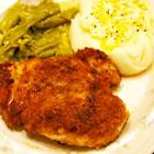 GARLIC CHICKEN FRIED CHICKEN