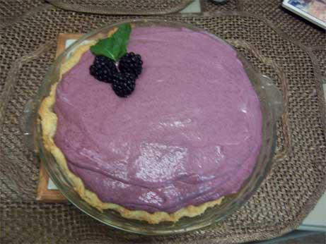Pastel Berry Pie