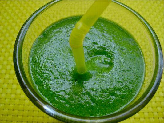 Raw Vegan Alkaline Green Smoothie