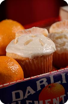 Oh My Darling Clementine Cupcakes