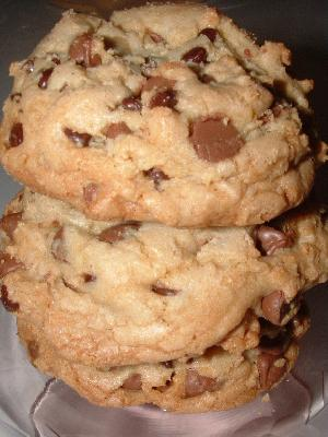 Small Batch Big, Fat, Chewy Chocolate Chip Cookies