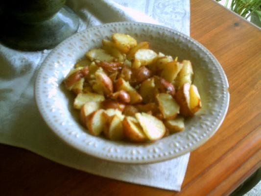 Roasted Potatoes with Lemon & Thyme