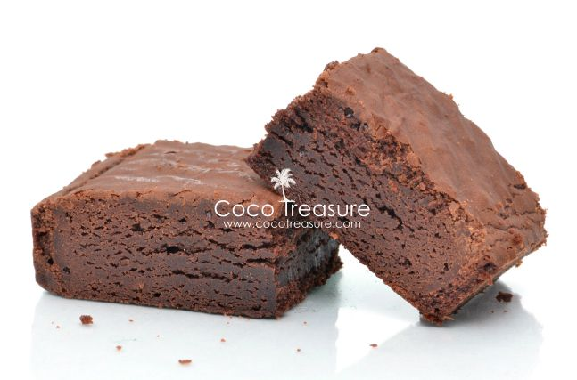 The BEST Coconut Flour Brownies