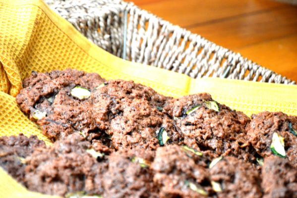 Amie Valpone & The Healthy Apple's Gluten Free Vegan Sweet Balsamic Zucchini Scones