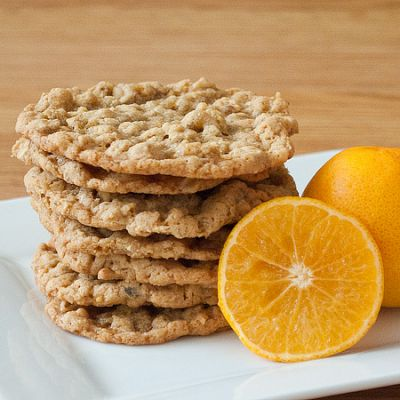 Diane's Orange and Oat Chewies