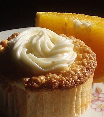 Julia Child's Orange and Almond Sponge Cake via Cupcakes