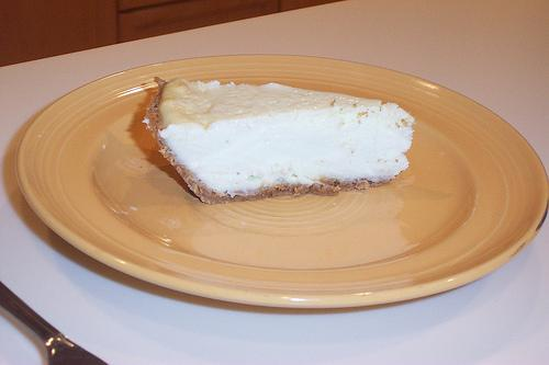 Low-Fat Key Lime Cheesecake