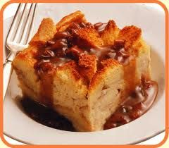 Famous Dave's Bread Pudding with Plantation Praline Sauce