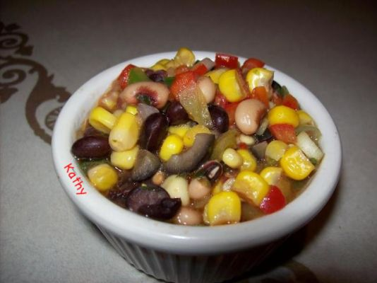 Black Beans & Corn Fiesta Salad