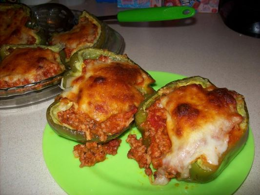 Italian Stuffed Pepper Cups