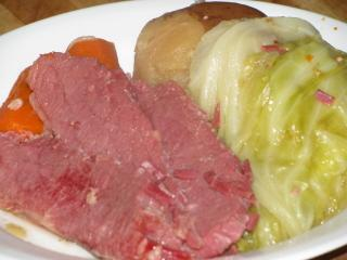 Corned Beef And Cabbage With Potatoes And Carrots Pressure Cooker Recipe