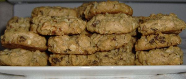 Peanut Butter Oatmeal Cinnamon Raisin Cookie - Gluten Free