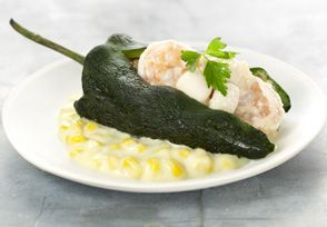 Poblano Stuffed Peppers