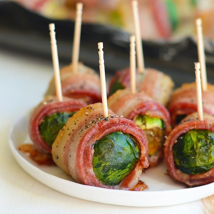 Bacon Rapped Brussels Sprouts
