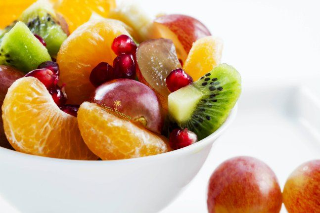 Holiday Fruit Salad with Coconut Sugar