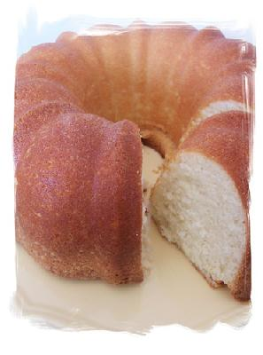 Paula Deen - Sour Cream Pound Cake