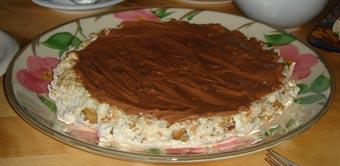 Chocolate-nut Cake Or Snickers Cake