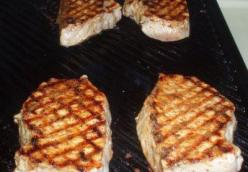 Broiled Or Grilled Deviled Pork Chops