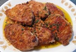 Pork Chops with Browned Butter Garlic Sauce