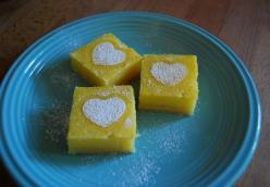 Sugared Lemon Squares