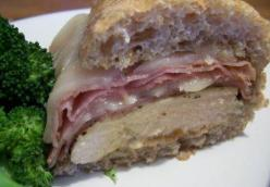 Chicken Cordon Bleu Sandwiches