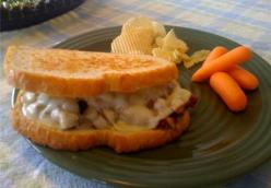 Leftover Meatloaf Grilled Cheezy Sandwhich