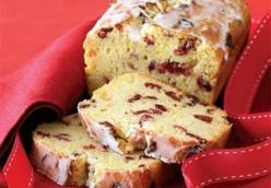Cranberry-Orange Bread with Grand Marnier Glaze
