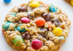 Oatmeal m and m cookies Lab 2