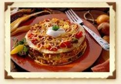 Chili Tortilla Stacks