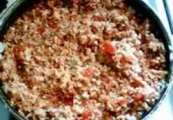 Meaty Spanish Rice