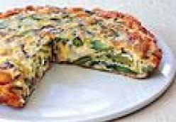 Leek and Asparagus Frittata