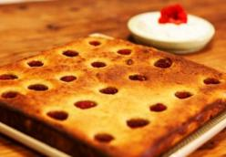 Apple and Raspberry Clafoutis