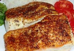 Max's Pan-Seared Wild Alaskan King Salmon Fillets